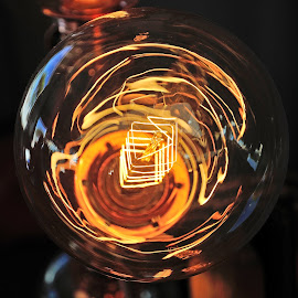 light bulb by Victor Eliu - Artistic Objects Other Objects ( abstract, bulb, lamp, artistic, artistic object, object, glow, incandescent, light,  )