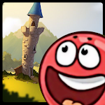 Red Rolling Ball Adventure 3 Icon