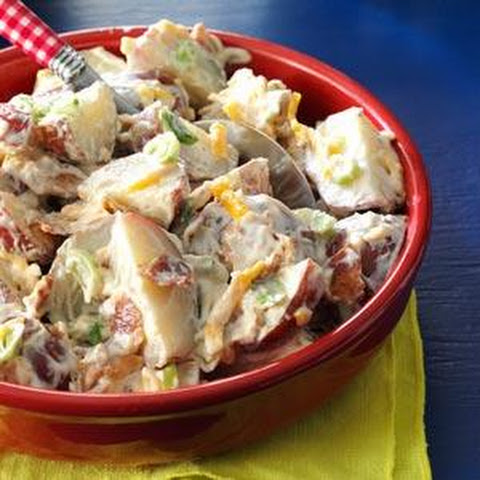 potato salad tzatziki potato salad baby red potato salad three color ...