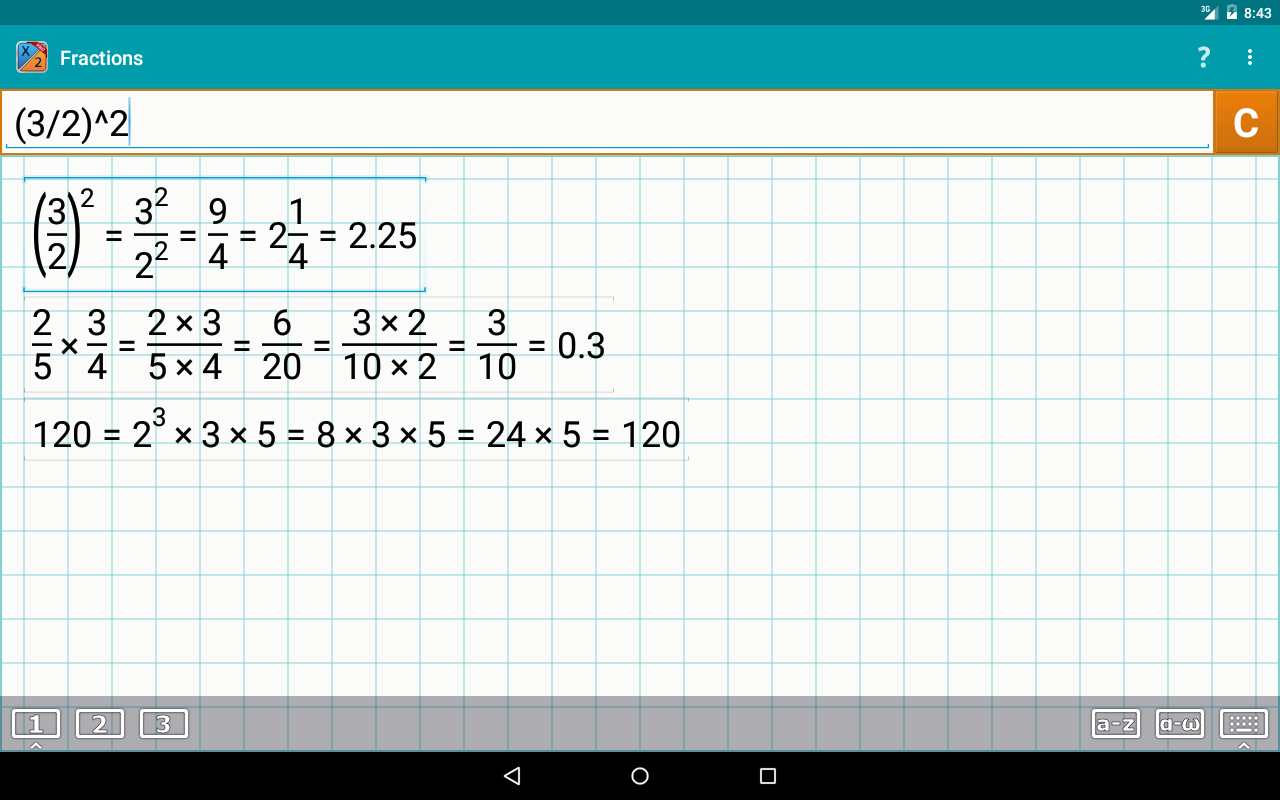 Fraction Calculator + Math PRO Screenshot 9