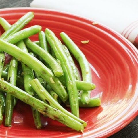 Recipe for Sautéed Green Beans with Garlic