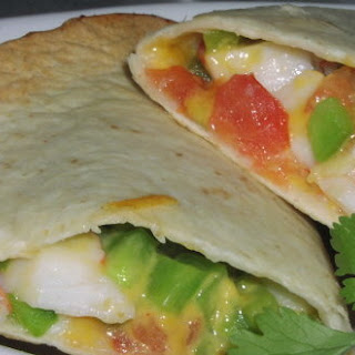 Weight Watchers Crab Quesadillas