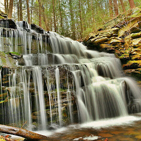 lockhaven falls by Travis Houston - Landscapes Waterscapes ( waterfalls, nature, waterscape, waterfall, pennsylvania, nikon,  )