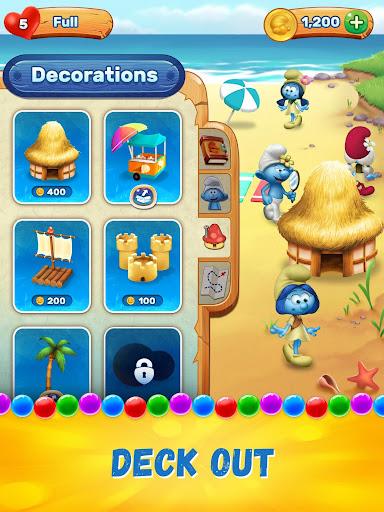 Smurfs Bubble Shooter Story screenshot 11