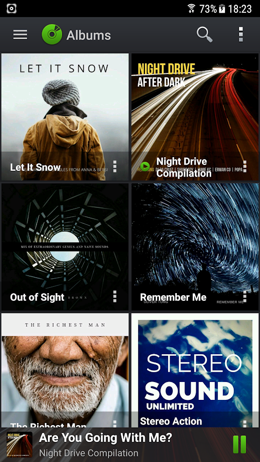 PlayerPro Music Player Screenshot 0
