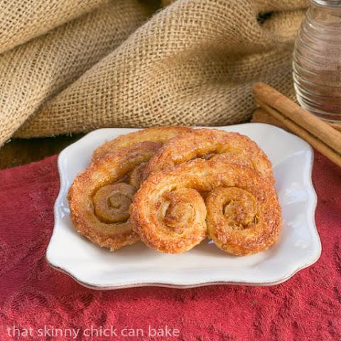 Apple & Cinnamon Palmiers – Bake of the Week