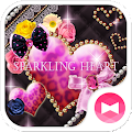 Download ★FREE THEMES★Sparkling Heart APK for Android Kitkat