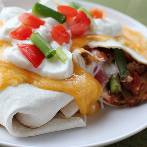 Beef and Bean Burrito Supreme