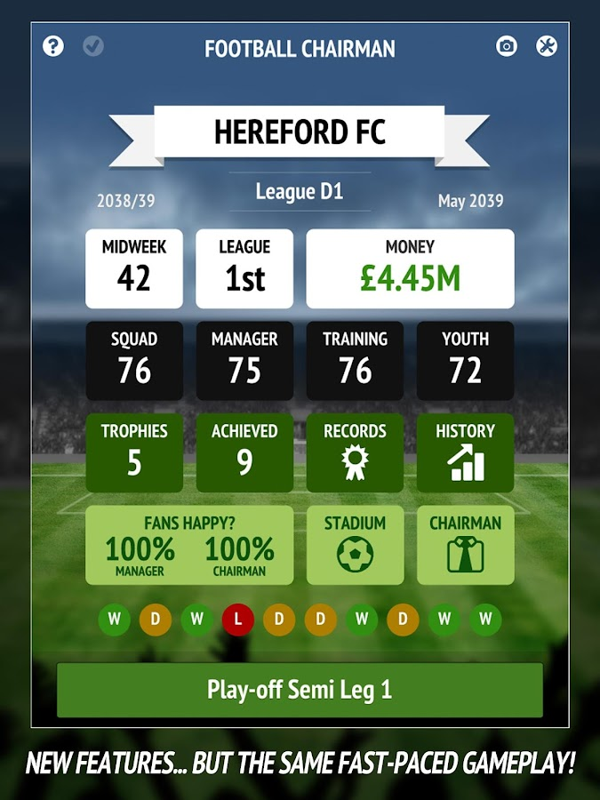 Football Chairman Pro Screenshot 5