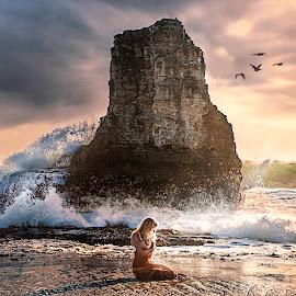 panther rock by Kelley Hurwitz Ahr - Digital Art People ( santa cruz )
