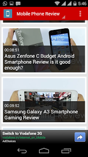 Mobile Phone Review - screenshot