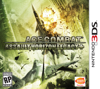 ACE COMBAT Assault Horizon Legacy + - box art