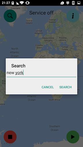 Fake GPS location Pro(no-ads) - screenshot
