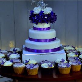 wedding cake by Nic Scott - Wedding Other ( cake, wedding photography, food, wedding, wedding cake,  )