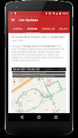 Screenshot of Ottawa Transit