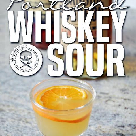 Portland Whiskey Sour With Burnside Bourbon