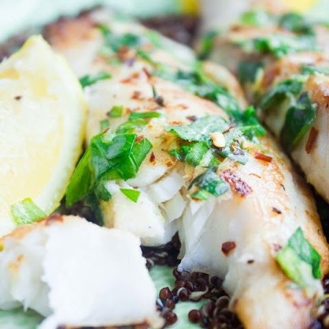 Quick Zesty Herb Tilapia
