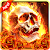 Fiery Skull Live Wallpaper file APK for Gaming PC/PS3/PS4 Smart TV