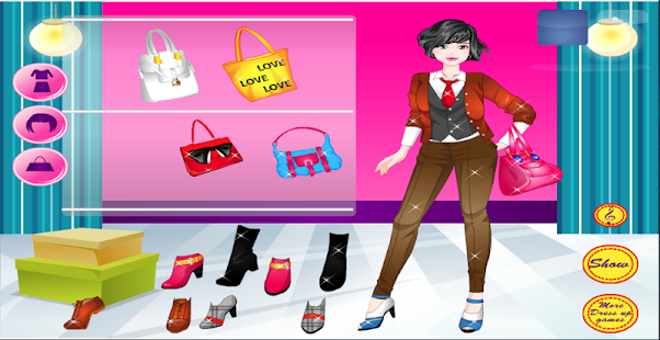 dress up for girl and makeover- screenshot thumbnail