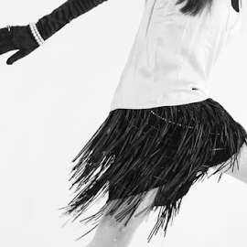 Francine by Tim Woolf - People Fashion ( fashion, vintage, humour, black and white, high fashion, humor, people, urban portrait, urban fashion, unique outfit )