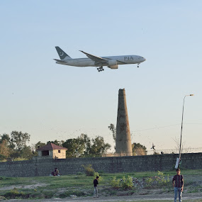 PIA by Tahir Sultan - Transportation Airplanes ( #pia#aviation#islamabad#pakistan )