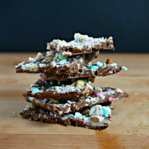 Jordan Almond Chocolate Bark