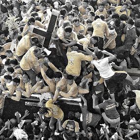 Feast of Black Nazarene by Jundio Salvador - News & Events World Events ( nazarene, feast, nazareno, philippines, culture )
