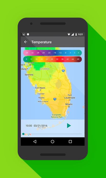 Weather 14 days Ad Free Screenshot 3
