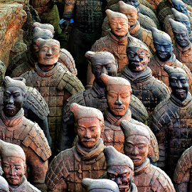 terracotta army by Stanley P. - Artistic Objects Other Objects
