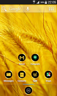 Gold ADWTheme - screenshot