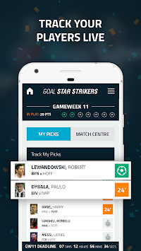 Goal Star Strikers APK screenshot thumbnail 5