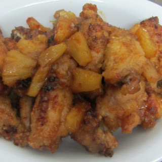 Hawaiian Chicken Wings Pineapple Recipes