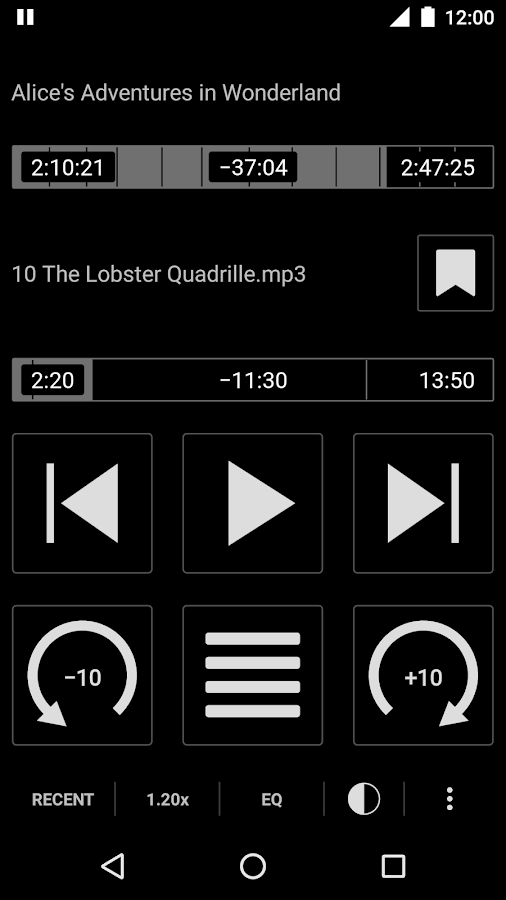 Simple Audiobook Player Screenshot 0