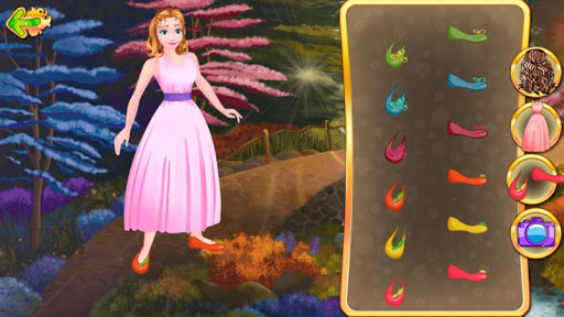 Dress Up: Cinderella - screenshot