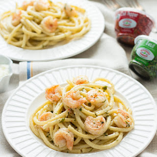 Shrimp Linguine with Lemon Butter Cream Sauce