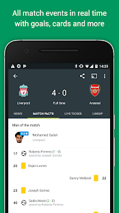 Download FotMob APK for Android Kitkat