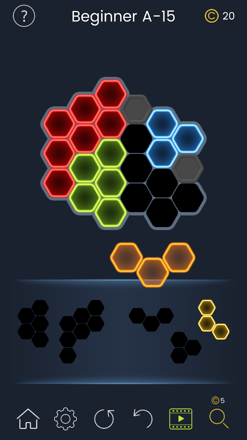 Puzzle Glow : Brain Puzzle Game Collection Screenshot 13