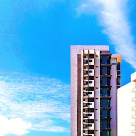 Top level by Norhan Sukaatti - Buildings & Architecture Office Buildings & Hotels ( mobilography, patterns, minimalism, lines, architecture )