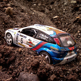 Let's get some Dirt! by Kèn Nugraha - Instagram & Mobile Other ( rally, phone camera, ford focus wrc, scale model, dirt )