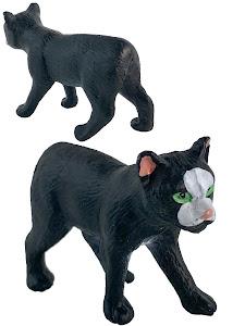 "Игрушка-фигурка серии ""Город Игр"", котенок S3, черый"