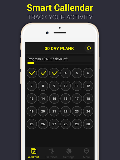 30 Day Plank Challenge Pro - screenshot