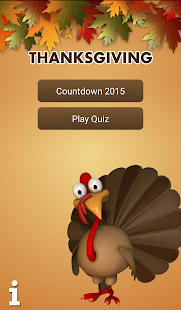 Thanksgiving Countdown& Trivia - screenshot