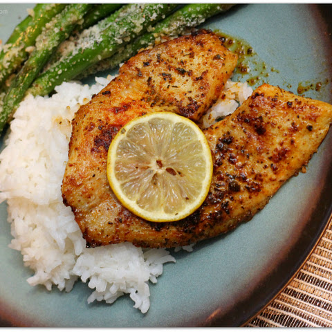 Quick Pan-Fried Tilapia
