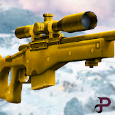 Mountain Sniper Assault Special Gold Warrior APK Icon