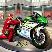 Game Police Moto Mechanic Workshop APK for Kindle