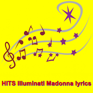 HITS Illuminati Madonna lyrics - screenshot