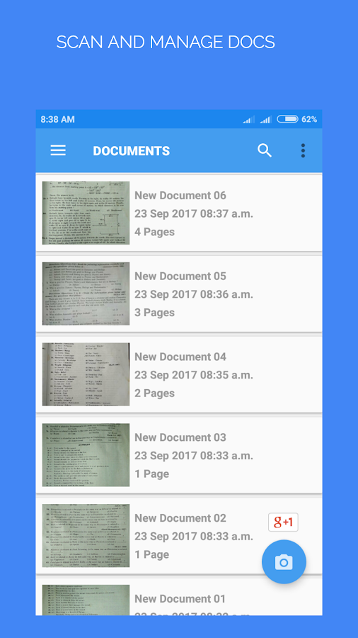 Doc Scanner pro : PDF Creator + OCR Screenshot