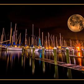 Harvest Moon by James Eickman - Digital Art Places