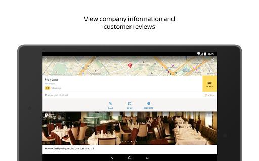 Yandex.Maps screenshot 18
