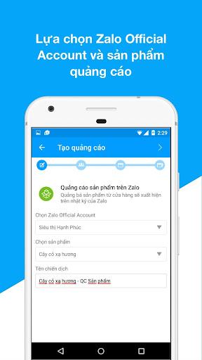 Zalo Ads screenshot 5